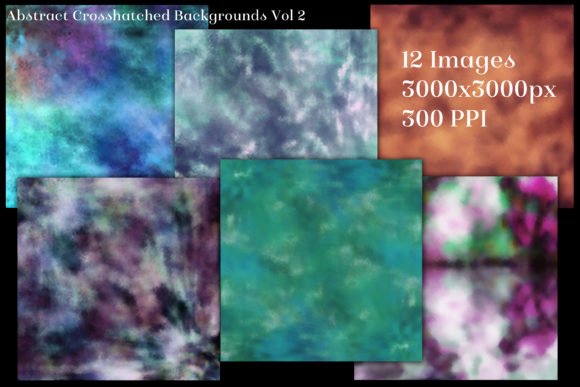 Print on Demand: Abstract Crosshatched Backgrounds Vol 2 Graphic Backgrounds By SapphireXDesigns - Image 2
