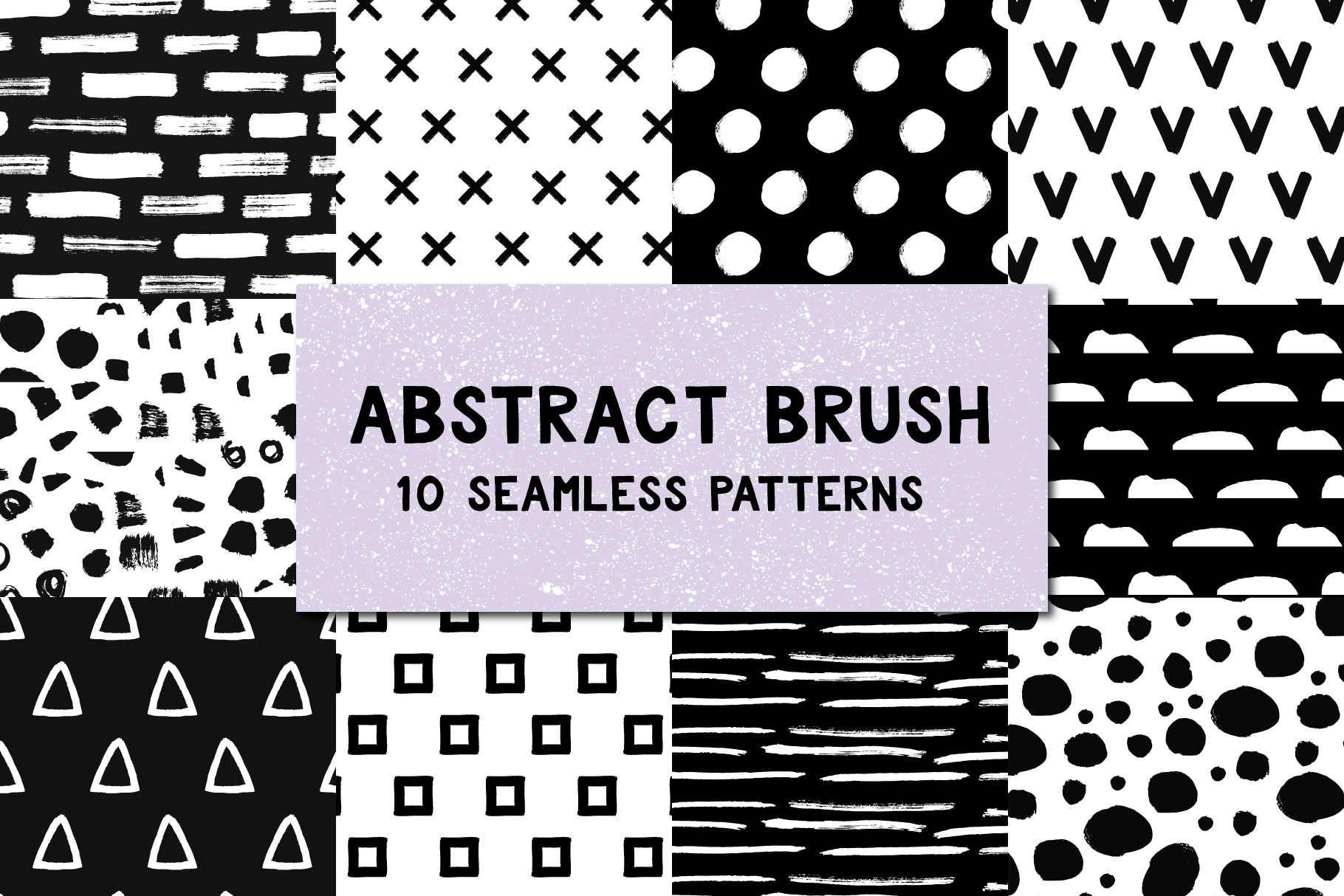Download Free Abstract Brush Patterns Graphic By Anatartan Creative Fabrica for Cricut Explore, Silhouette and other cutting machines.