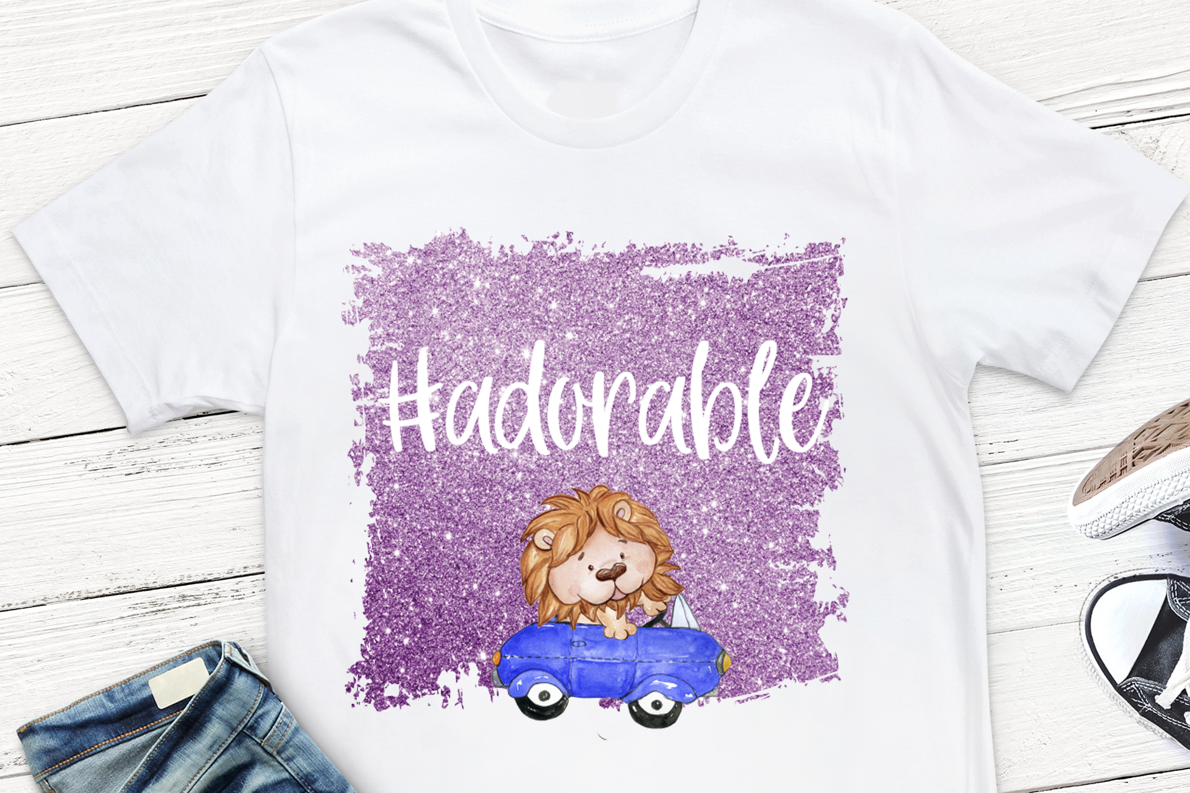 Download Free Adorable Sublimation Design Graphic By Stickers By Jennifer for Cricut Explore, Silhouette and other cutting machines.