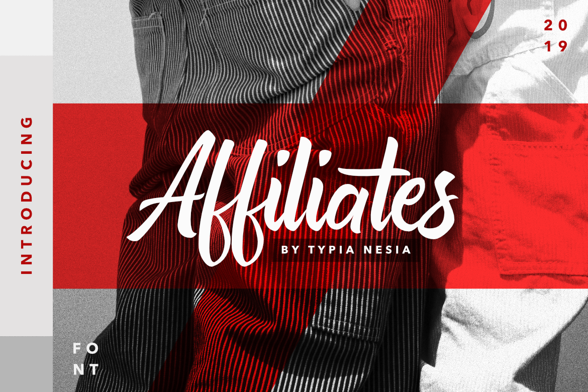 Download Free Affiliates Font By Typia Nesia Creative Fabrica SVG Cut Files