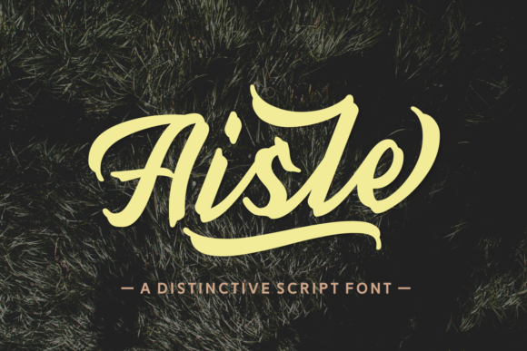 Print on Demand: Aisle Script & Handwritten Font By Dani (7NTypes)