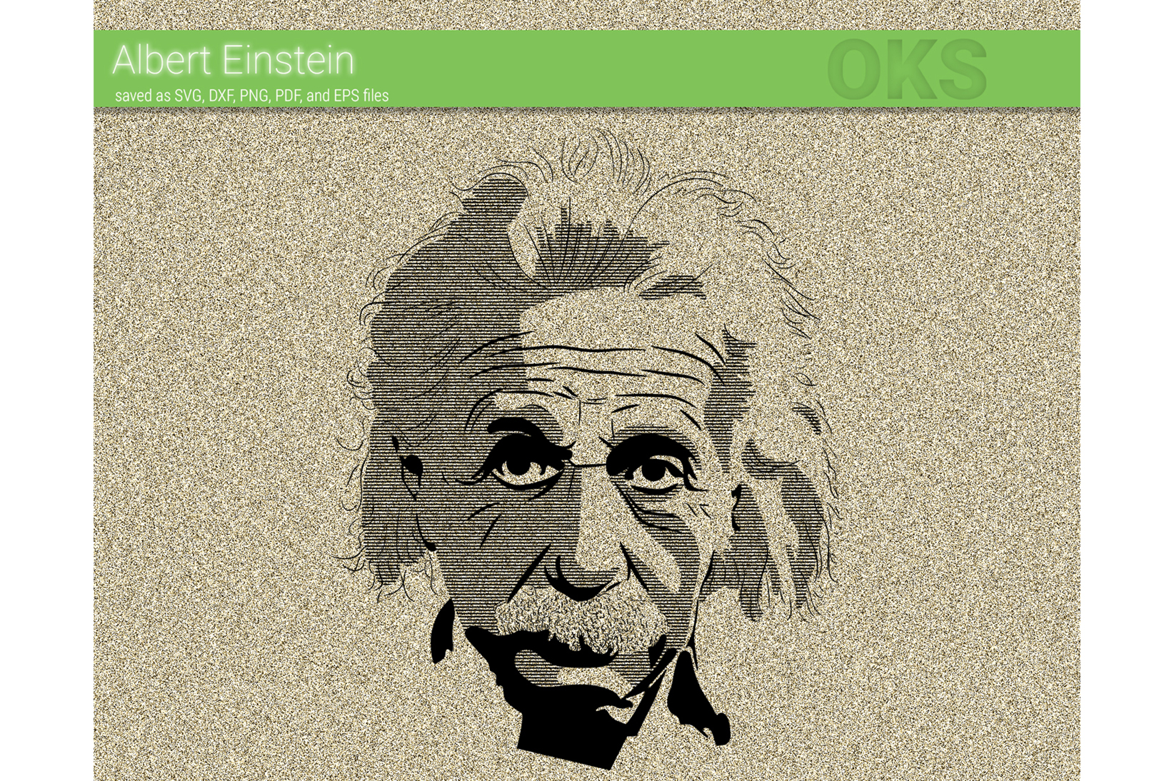 Download Free Albert Einstein Svg Vector Graphic By Crafteroks Creative Fabrica for Cricut Explore, Silhouette and other cutting machines.