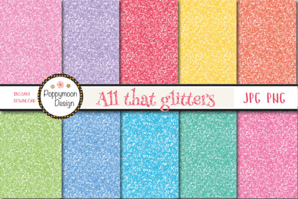 Print on Demand: All That Glitters Paper Graphic Patterns By poppymoondesign