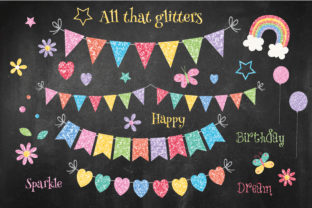 Print on Demand: All That Glitters Graphic Illustrations By poppymoondesign