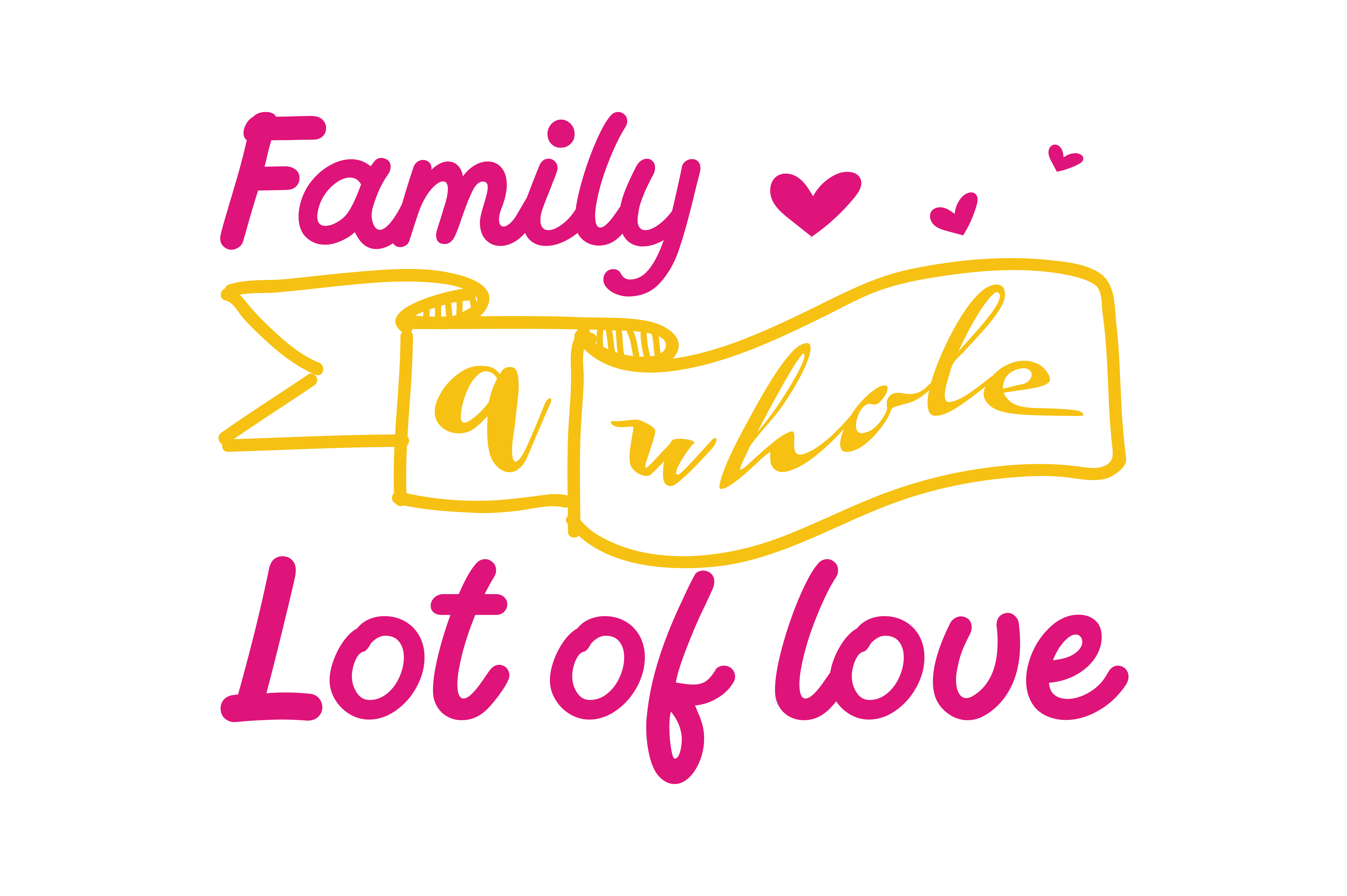 Download Free All Because Two People Fell In Love Quote Svg Cut Graphic By for Cricut Explore, Silhouette and other cutting machines.