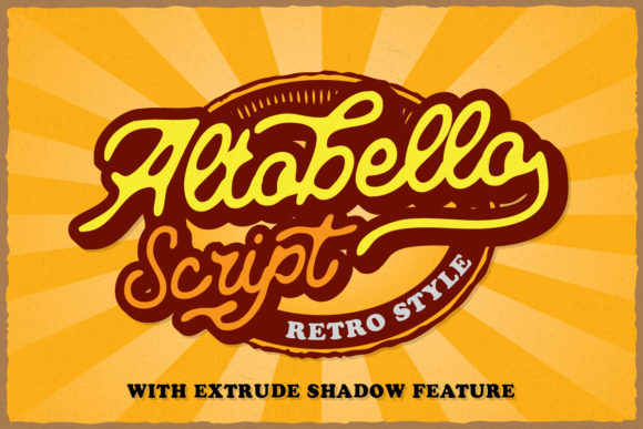 Print on Demand: Altobello Script & Handwritten Font By byaboemair