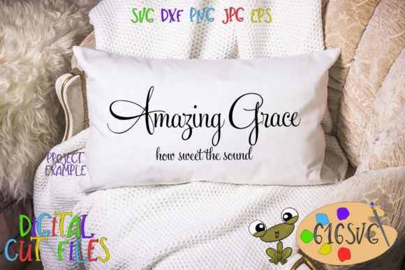 Amazing Grace Svg Graphic By 616svg Creative Fabrica