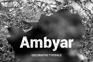 Ambyar Font By da_only_aan