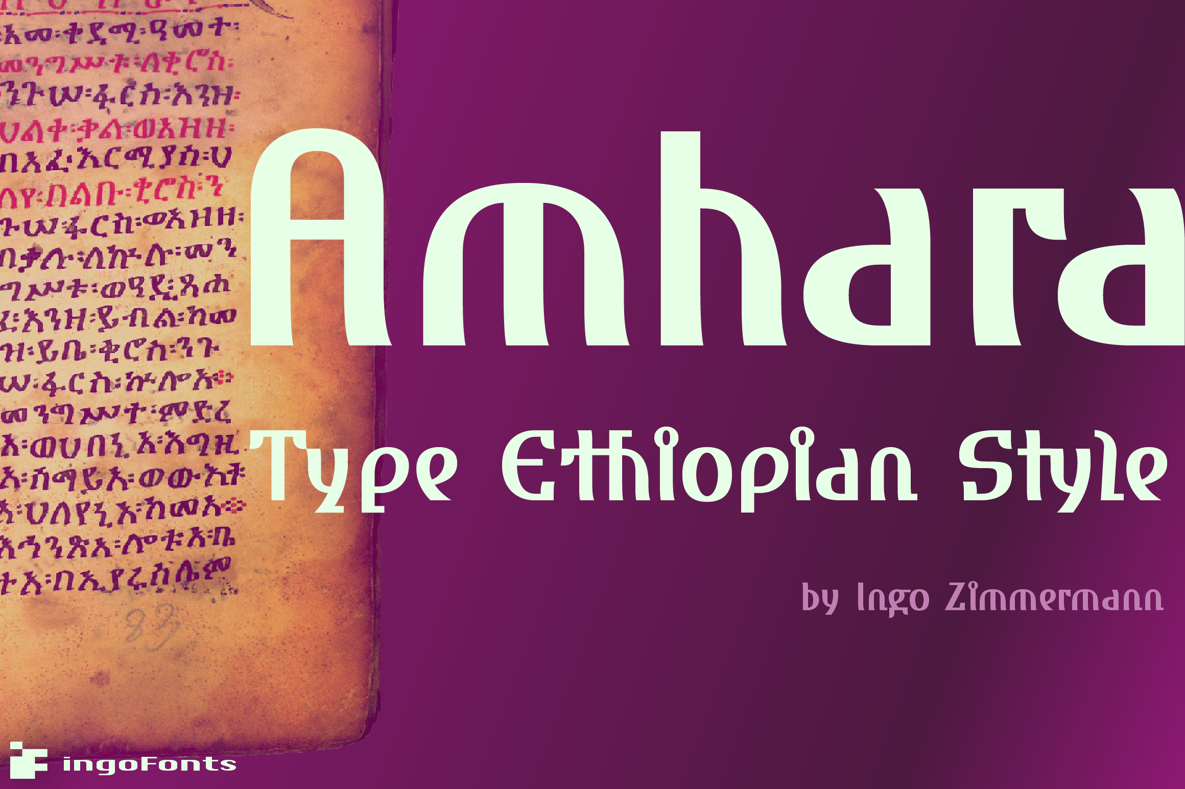 Download Free Amhara Font By Ingofonts Creative Fabrica for Cricut Explore, Silhouette and other cutting machines.