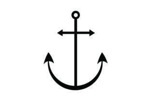 Simple Black Anchor Pirates Craft Cut File By Creative Fabrica Crafts