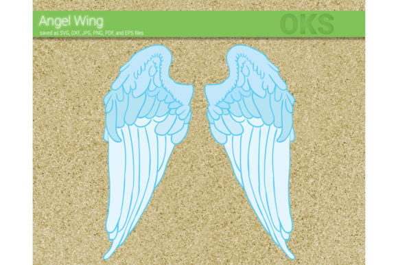 Print on Demand: Angel Wing Vector Graphic Crafts By CrafterOks