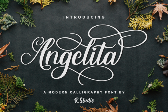 Download Free Angelita Fuente Por R Studio Creative Fabrica for Cricut Explore, Silhouette and other cutting machines.