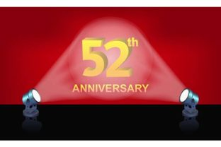 Anniversary Gold 3d Numbers Illustration Graphic By rohmar