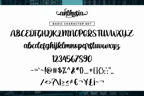 Anthusia Font By R. Studio Image 6