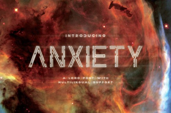 Anxiety Dingbats Font By sandrifaqih
