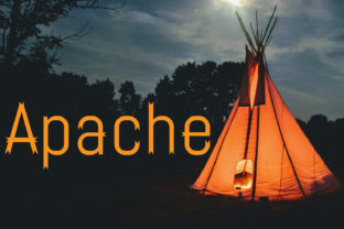 Apache Font By da_only_aan