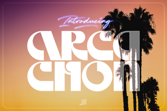 Print on Demand: Arcachon Display Font By Jvne77
