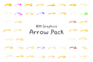 Arrows Font By GraphicsBam Fonts