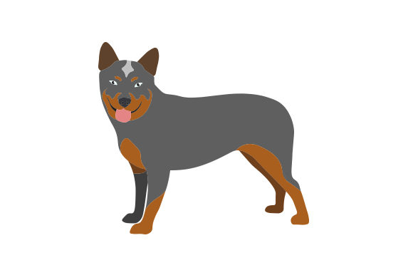 Download Free Australian Cattle Dog Svg Cut File By Creative Fabrica Crafts for Cricut Explore, Silhouette and other cutting machines.