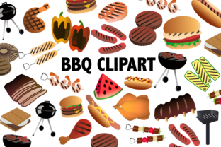 BBQ Clipart Graphic By Mine Eyes Design
