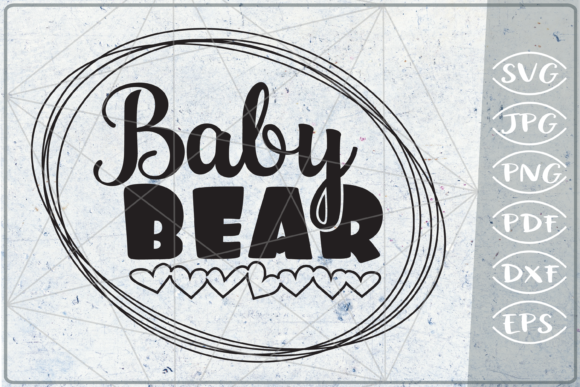 Baby Bear SVG Cuting File Graphic Crafts By Cute Graphic