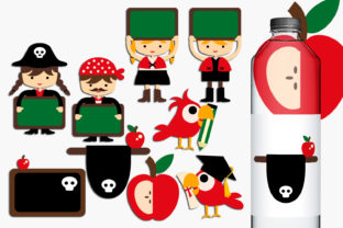 Back to School Pirates Graphic By Revidevi