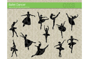 Download Free Ballet Dancer Svg Vector Clipart Graphic By Crafteroks SVG Cut Files