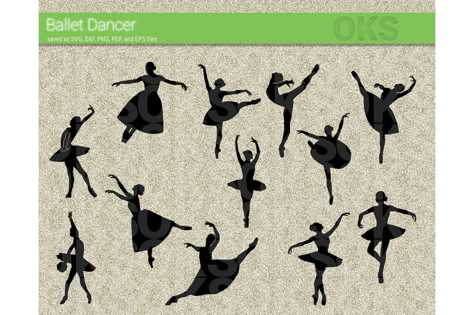 Download Free Ballet Dancer Svg Vector Clipart Graphic By Crafteroks for Cricut Explore, Silhouette and other cutting machines.