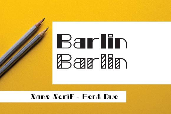Print on Demand: Barlin Sans Serif Font By ponizeothox