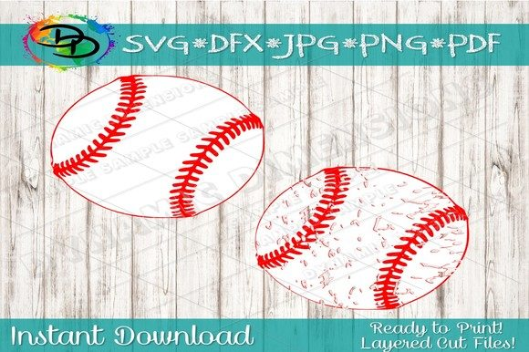 Download Free Baseball Laces Svg Baseball Threads Sv Graphic By for Cricut Explore, Silhouette and other cutting machines.