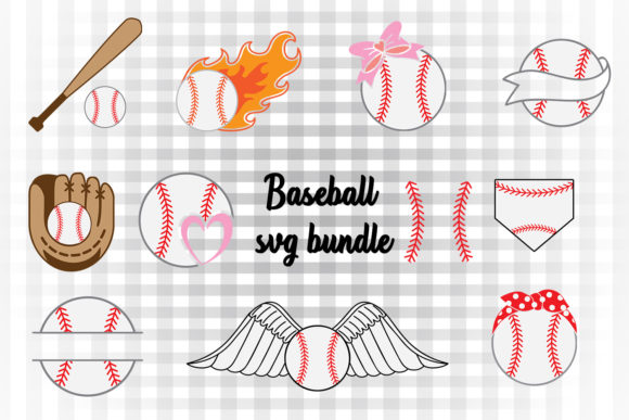 Baseball Clipart Graphic