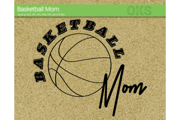 Download Free Basketball Mom Vector Graphic By Crafteroks Creative Fabrica for Cricut Explore, Silhouette and other cutting machines.