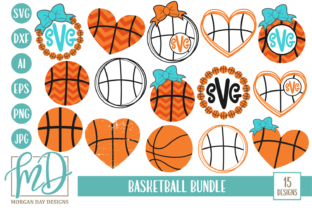 Download Free Basketball Bundle Graphic By Morgan Day Designs Creative Fabrica for Cricut Explore, Silhouette and other cutting machines.