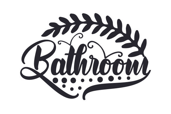 Bathroom Doors Signs Craft Cut File By Creative Fabrica Crafts