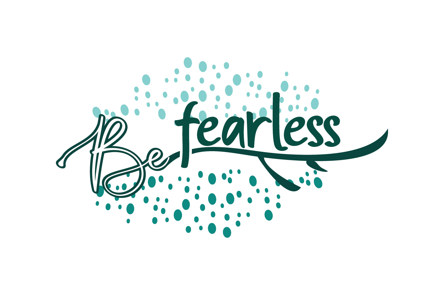 Download Free Be Fearless Motivation Quote Svg Cut Graphic By Yuhana Purwanti for Cricut Explore, Silhouette and other cutting machines.