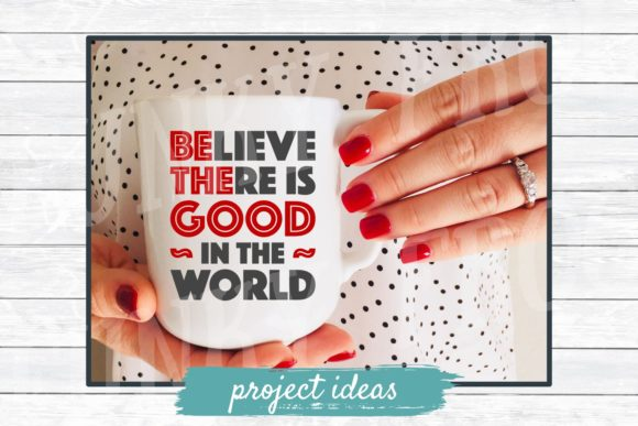 Download Free Be The Good For Crafters Graphic By Funkyfrogcreativedesigns for Cricut Explore, Silhouette and other cutting machines.