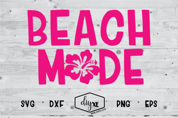 Beach Mode Graphic By Sheryl Holst Creative Fabrica