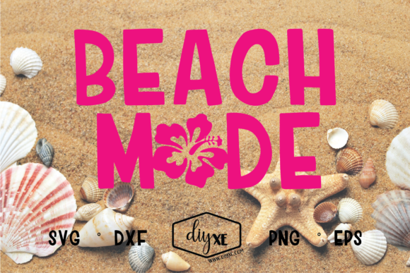 Beach Mode Graphic Crafts By Sheryl Holst