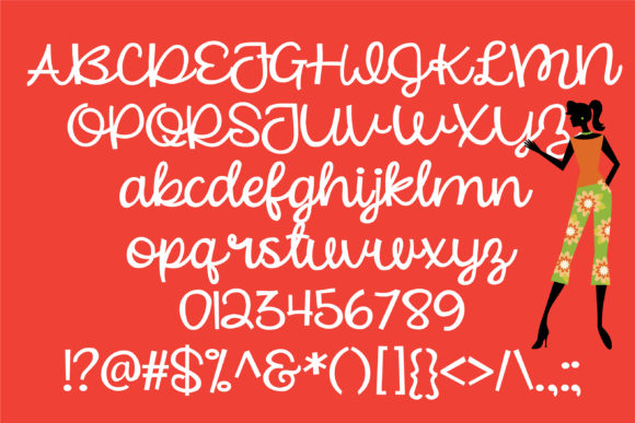 Beautiful Mess Font By Illustration Ink Image 2