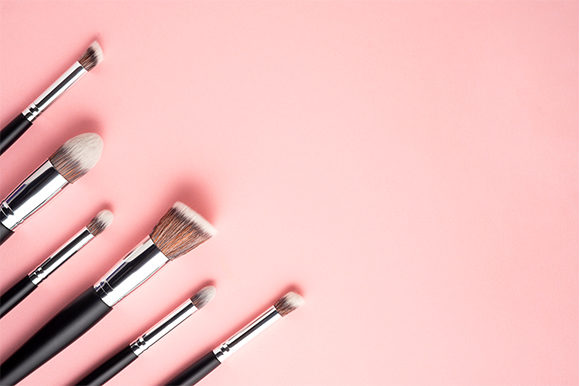 Beauty Brushes. Graphic Beauty & Fashion By Sasha_Brazhnik - Image 1