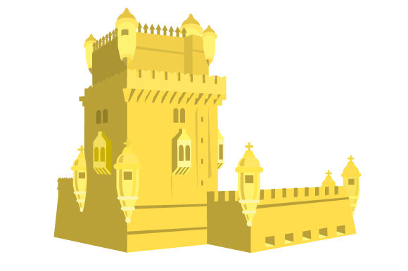 Belem Tower Portugal Craft Cut File By Creative Fabrica Crafts