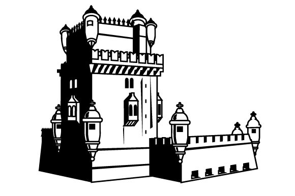 Belem Tower Portugal Craft Cut File By Creative Fabrica Crafts - Image 2