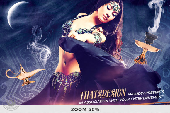 Belly Dancing Flyer Template V2 Graphic By ThatsDesignStore Image 7