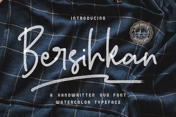 Print on Demand: Bersihkan Color Fonts Font By Graphicfresh