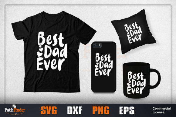 Download Free Worlds Greatest Dad Svg Design Graphic By Pathfinder Creative for Cricut Explore, Silhouette and other cutting machines.