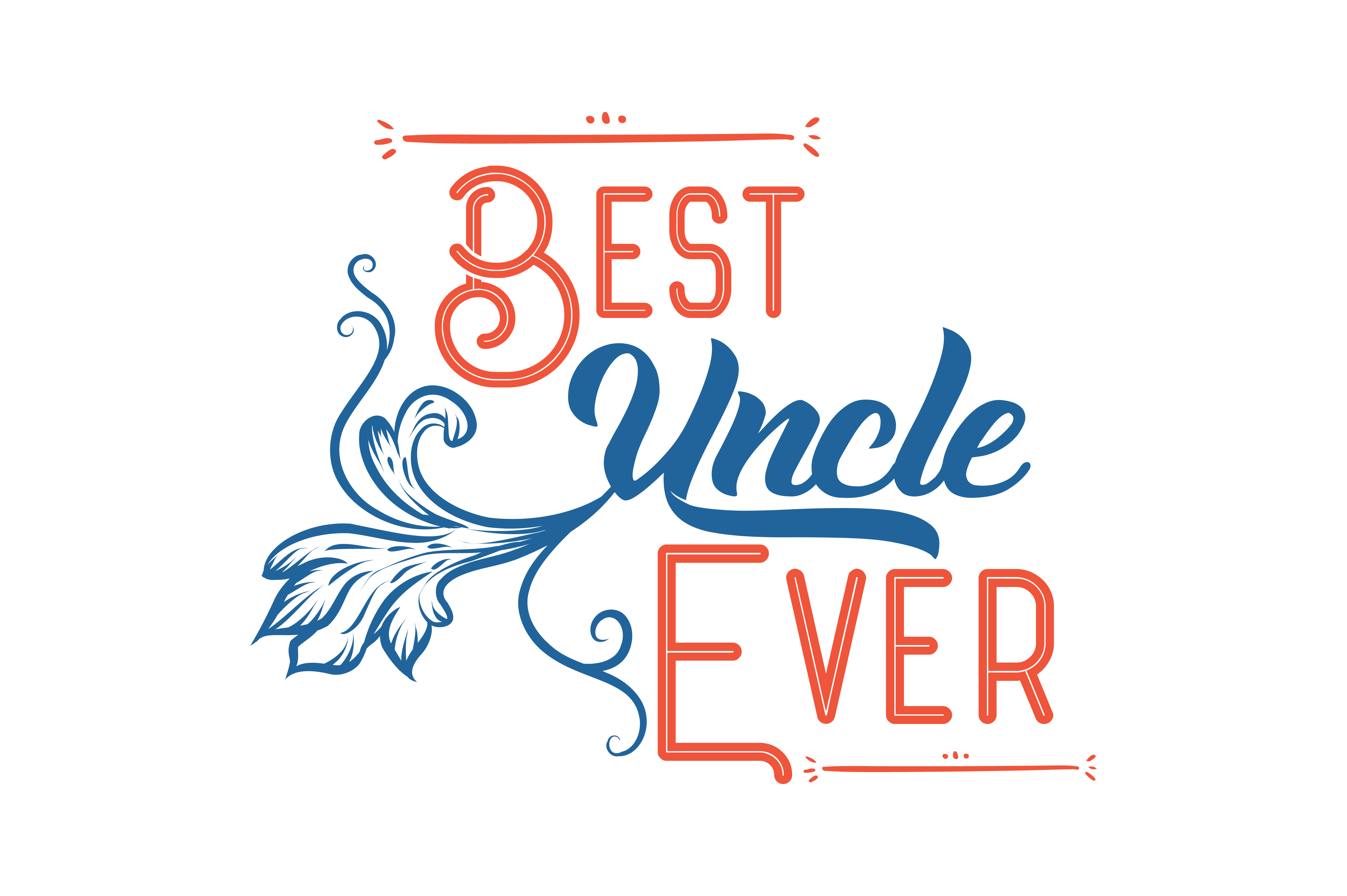 Download Free Best Uncle Ever Quote Svg Cut Graphic By Thelucky Creative Fabrica for Cricut Explore, Silhouette and other cutting machines.