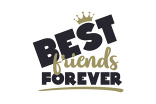 Best Friends Forever Craft Design By Creative Fabrica Crafts
