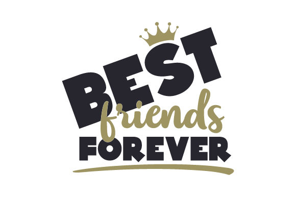 Download Free Best Friends Forever Svg Cut File By Creative Fabrica Crafts for Cricut Explore, Silhouette and other cutting machines.