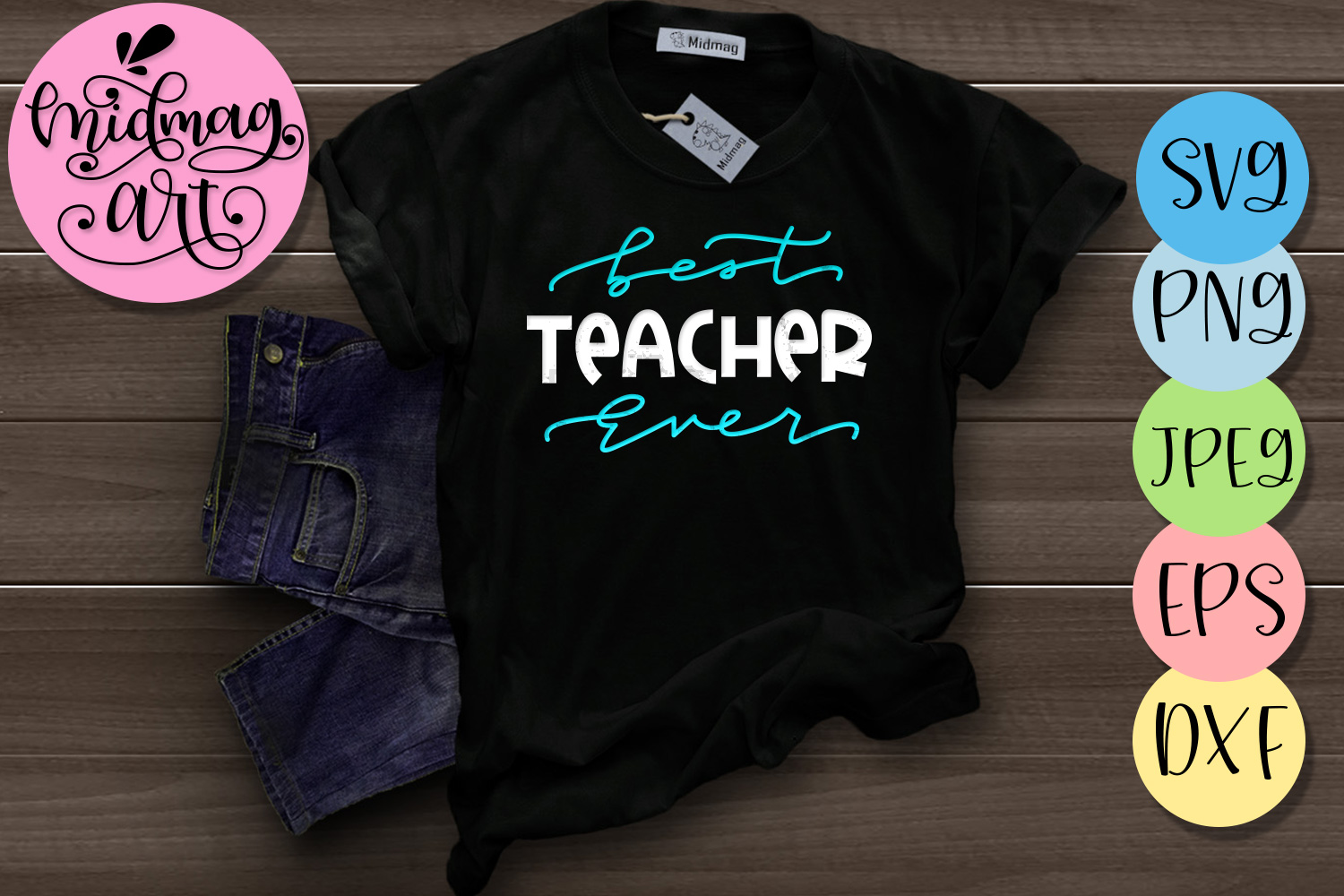 Download Free Best Teacher Ever Svg Creative Fabrica SVG Cut Files