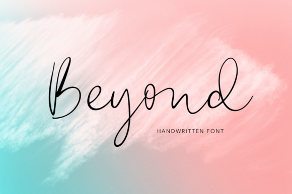 Print on Demand: Beyond Script & Handwritten Font By Pasha Larin